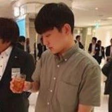 Chanwoo felhasználói profilja