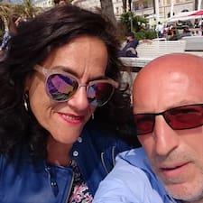 Användarprofil för Tony & Melinda