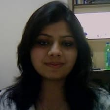 Perfil do utilizador de Deepti