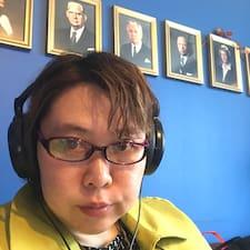 Yumiko felhasználói profilja