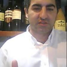 Golfinho felhasználói profilja