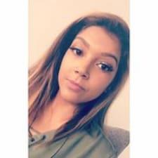 Eviana felhasználói profilja