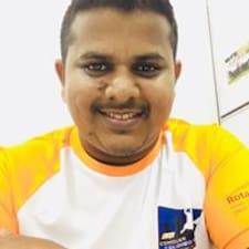 Pubudu felhasználói profilja