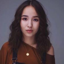 Zhanna felhasználói profilja