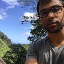Perfil do utilizador de Aravind