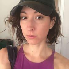 Kate felhasználói profilja
