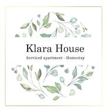 Klara felhasználói profilja