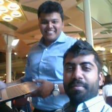 Sidhant felhasználói profilja