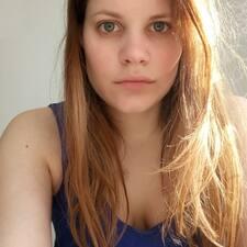 Gwendoline felhasználói profilja