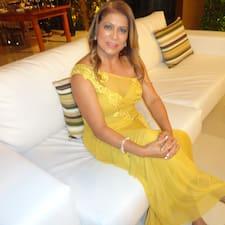 Henkilön Maria Aparecida käyttäjäprofiili