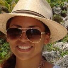Violeta felhasználói profilja