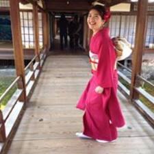 Hinako felhasználói profilja