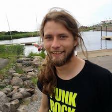 Gustav felhasználói profilja