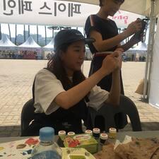 Jiwon felhasználói profilja