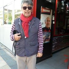 Gérard felhasználói profilja