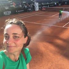 Serena felhasználói profilja