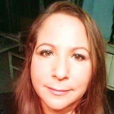 Henkilön Liz käyttäjäprofiili
