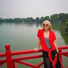 Caitlin felhasználói profilja