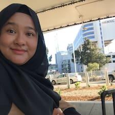 Perfil do utilizador de Siti Noorshaznee
