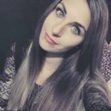 Luana felhasználói profilja