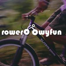 RowerowyFun - Uživatelský profil