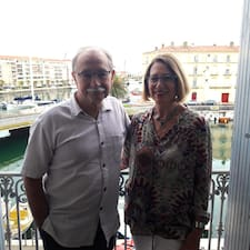 Gebruikersprofiel Claudine & Gérard