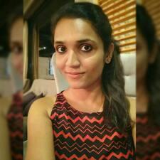 Vibhusha felhasználói profilja