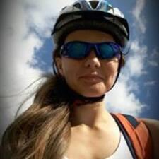 Alena felhasználói profilja