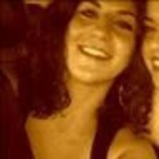 Sarine felhasználói profilja