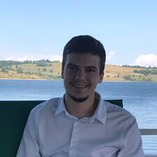 Strahinja felhasználói profilja