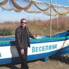 Petko felhasználói profilja