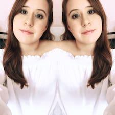 Sarahi felhasználói profilja