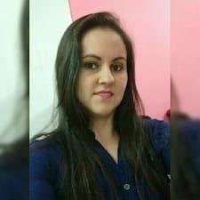 Meriele felhasználói profilja