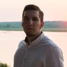 Maksims felhasználói profilja