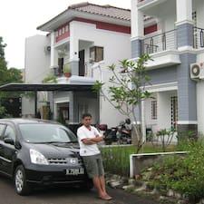 Bheta felhasználói profilja