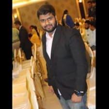 Kavish felhasználói profilja