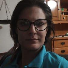 Valeria felhasználói profilja