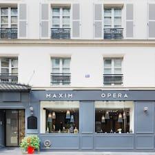 Nutzerprofil von Marie - Hotel Maxim Opera