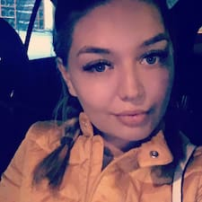 Mihaela felhasználói profilja