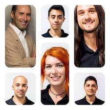 Daniel, Javier, Borja, Efrem