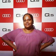 Profil utilisateur de Sruthi