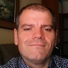 Alberto felhasználói profilja