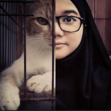 Perfil do utilizador de Siti Hanisah