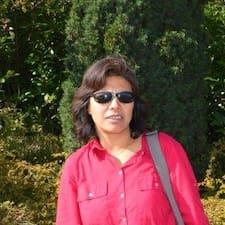 Användarprofil för Shanti