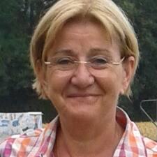 Henkilön Marie-Odile käyttäjäprofiili