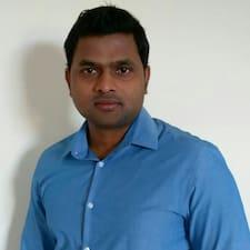 Henkilön Anandh Raj käyttäjäprofiili