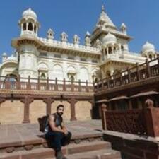 Prithvi felhasználói profilja