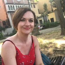 Olena felhasználói profilja