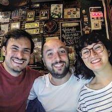 Nicolás, Iván, Mónica & Aldana