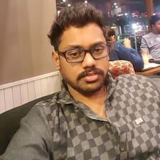 Perfil do usuário de Vinod